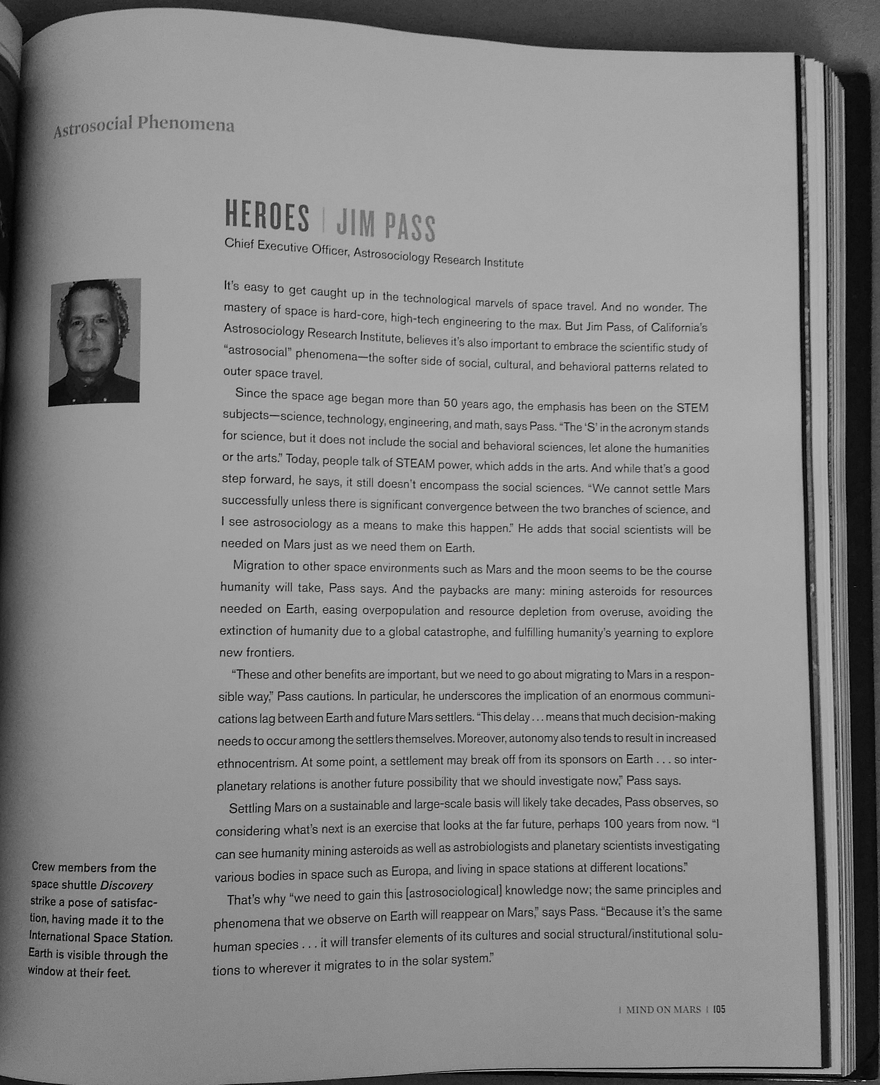 Pass, Jim (2016) Page 105 In Mars: Our Future On The Red Planet, Edited By  Leonard David Forward By Ron Howard Washington, Dc: National Geographic